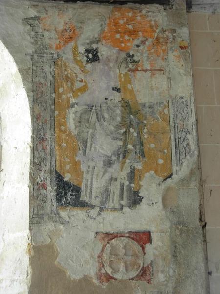 Peinture monumentale, sud, saint Paul, vue générale