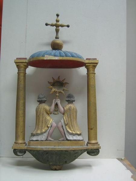 Bâton de procession: Saint-Sacrement, vue partielle