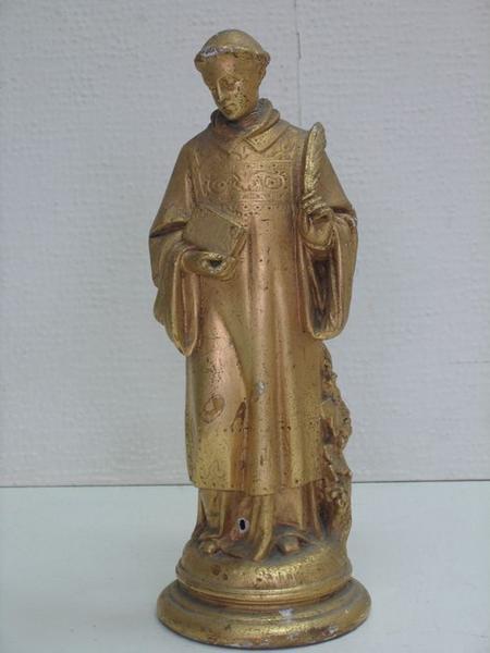 Bâton de procession: saint Vincent, vue partielle