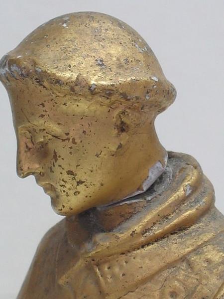 Bâton de procession: saint Vincent, détail