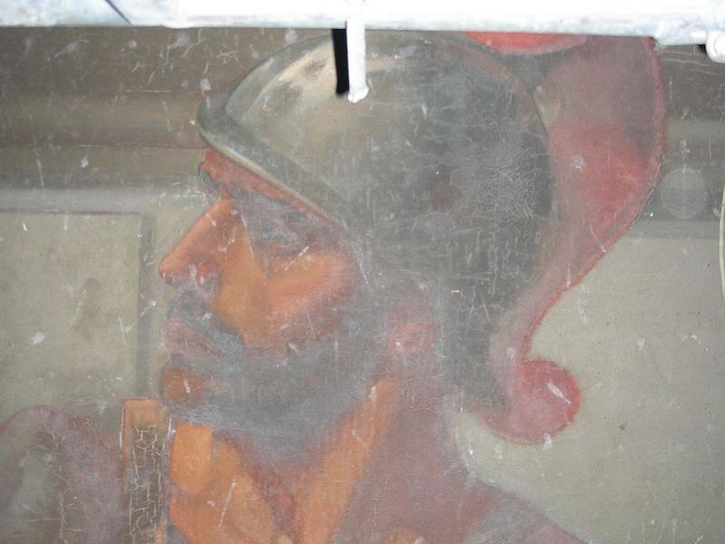 Tableau: martyre de saint Gervais et saint Protais (le), détail