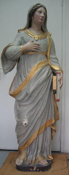 Statue: sainte Thérèse, vue générale