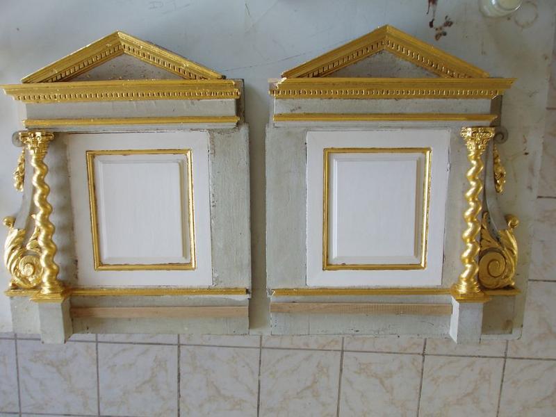Tabernacle du maître-autel, détail