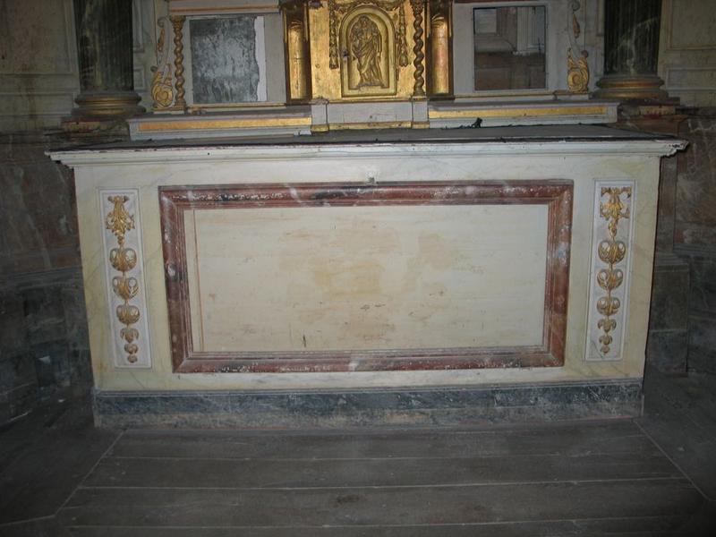 Autel du retable du maître-autel, vue générale