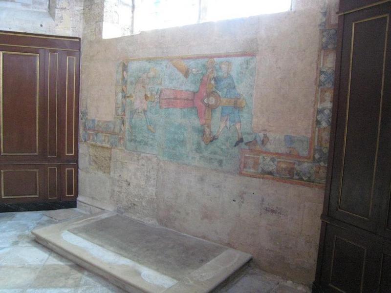 Peinture monumentale: Crucifixion (la), vue générale