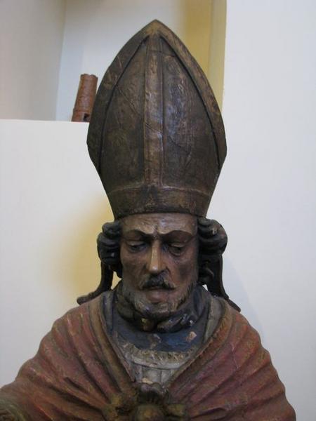 statue : saint Gérard, détail