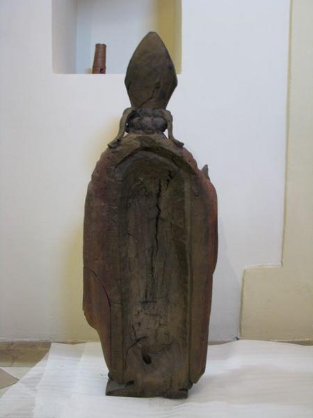 Statue : saint Gérard, vue générale du revers