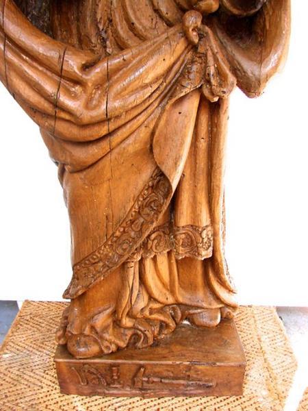 Statue: saint Eloi, vue générale