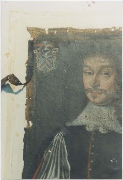Tableau, cadre : Raymond de Lambertye
