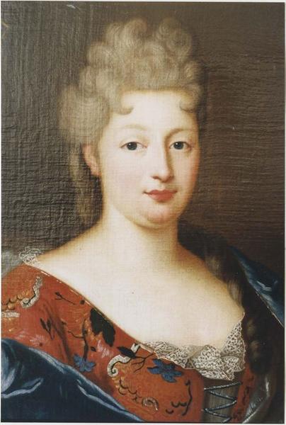 Tableau, cadre : Antoinette-Louise de Lambertye