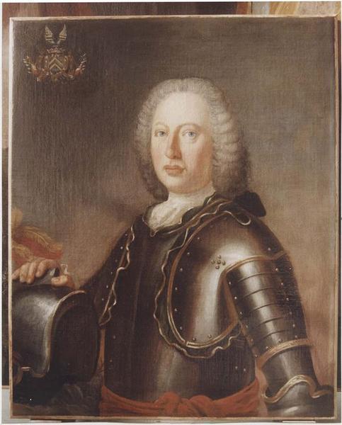 Tableau, cadre : François-Charles, alias Antoine de Lambertye