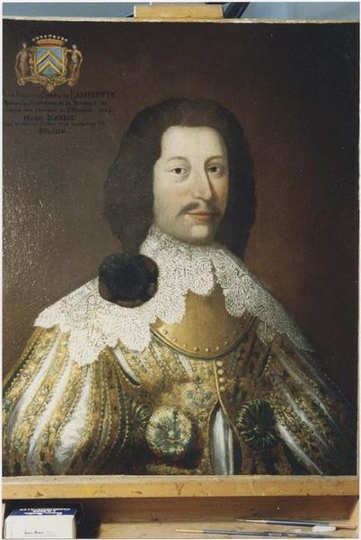 Tableau, cadre : Jean-François de Lambertye