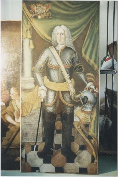 Tableau, cadre : Nicolas-François de Lambertye