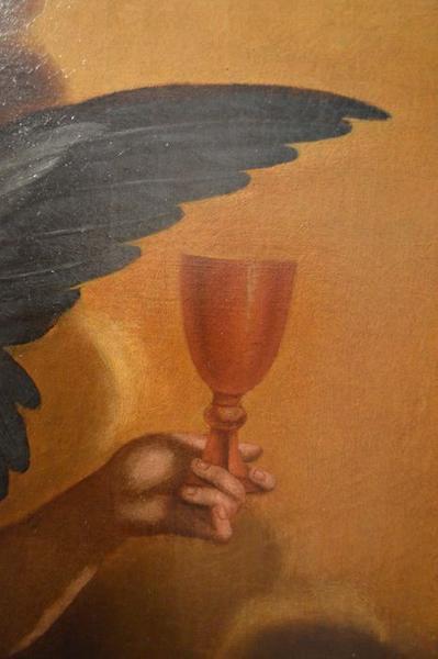 Tableau: Christ de pitié, détail