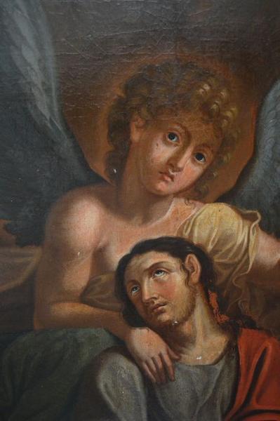 Tableau: Christ de pitié, vue partielle