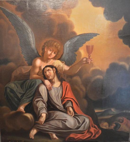 Tableau: Christ de pitié, vue générale