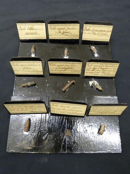 Types de balles, vue générale