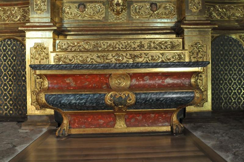 Retable de saint Benoît, vue générale de l'autel