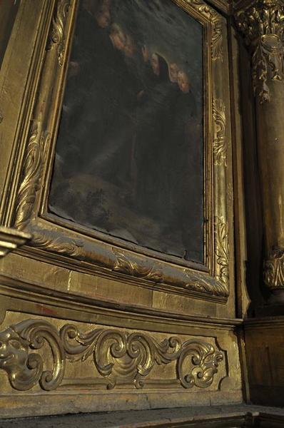 Retable de saint Benoît, détail