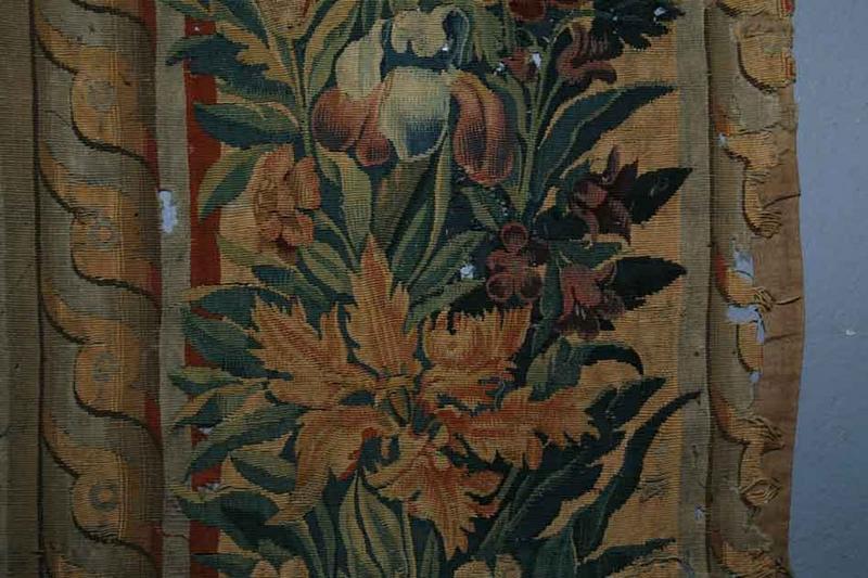 Pièce murale : Samson au banquet des philistins, détail
