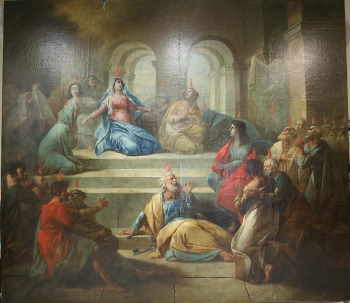 Tableau: Pentecôte (la), vue générale