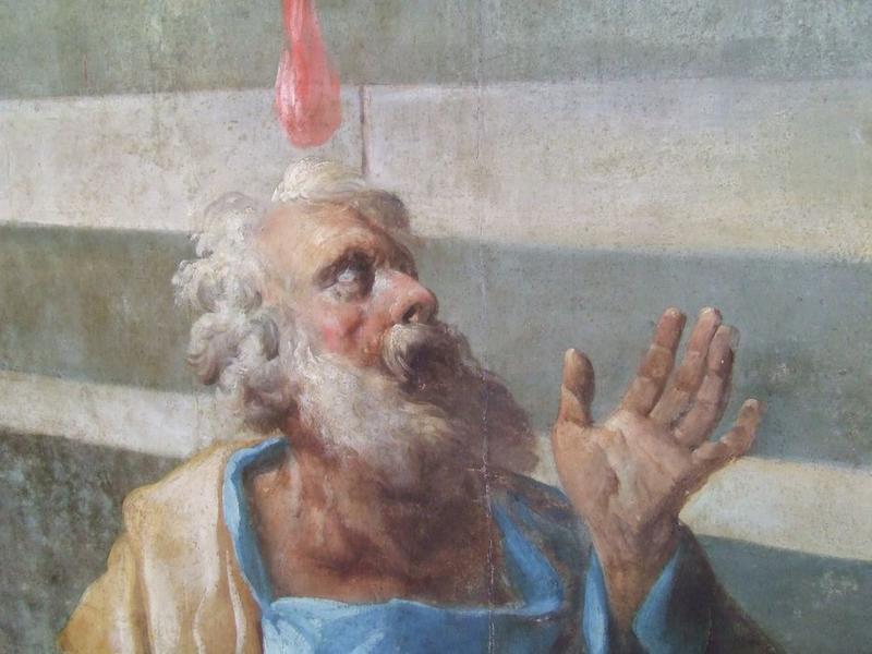 Tableau: Pentecôte (la), détail