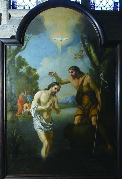 tableau : Baptême du Christ (le), vue générale
