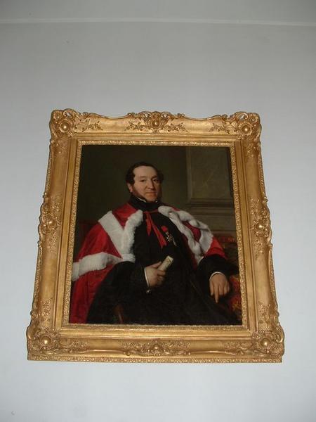 tableau : Portrait de Michel Serre, vue générale