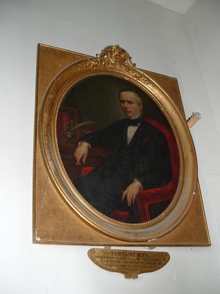 tableau : Portrait de M.F.C. Fontaine, vue générale