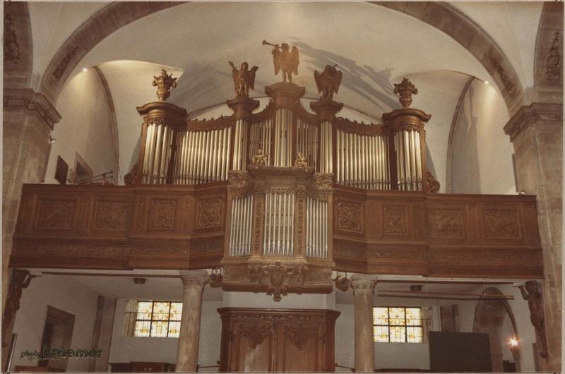 orgue de tribune : tribune et buffet d'orgue