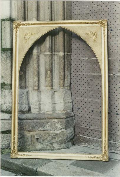 Tableau et cadre : sainte Philomène