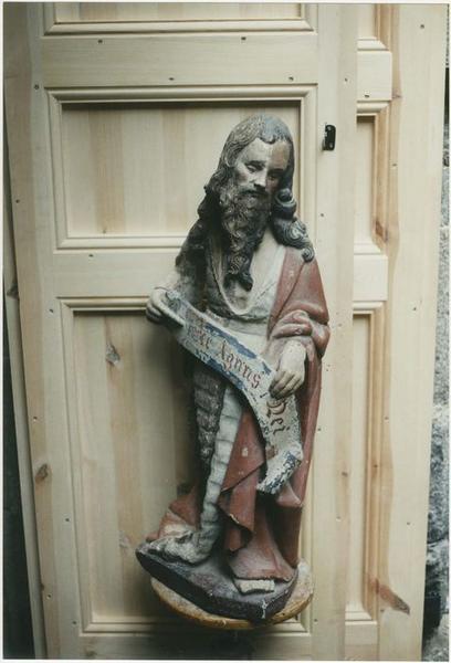 Statue (demi-nature) : saint Jean-Baptiste