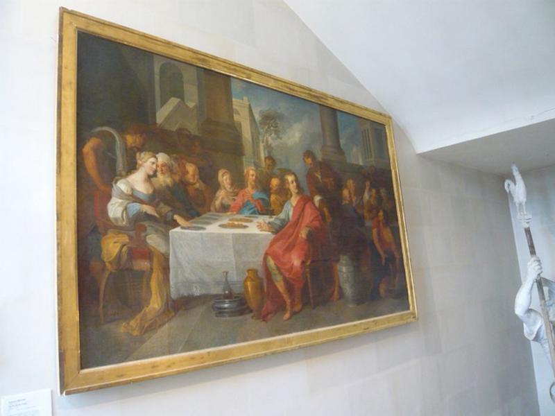 tableau : Les Noces de Cana, vue générale