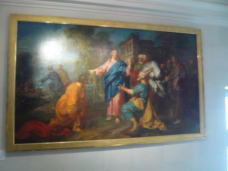 tableau : La Profession de foi de saint Pierre