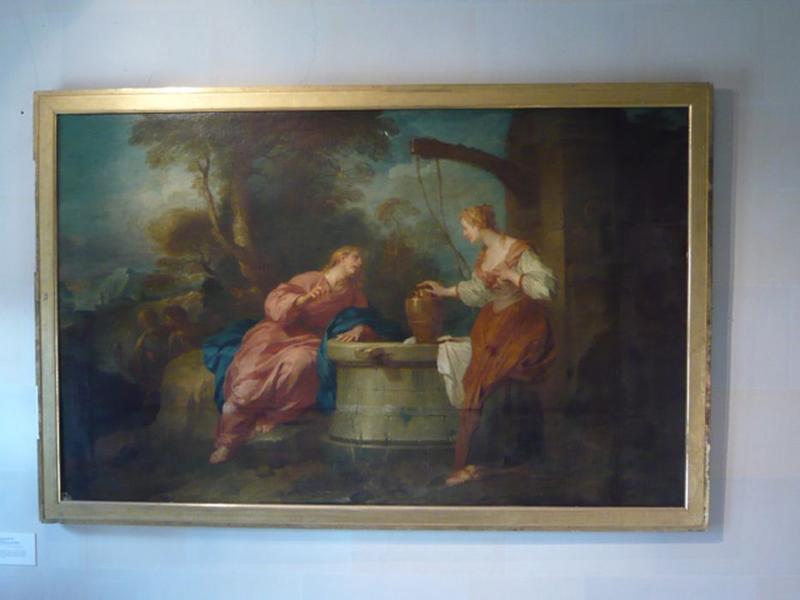 tableau : Jésus et la samaritaine