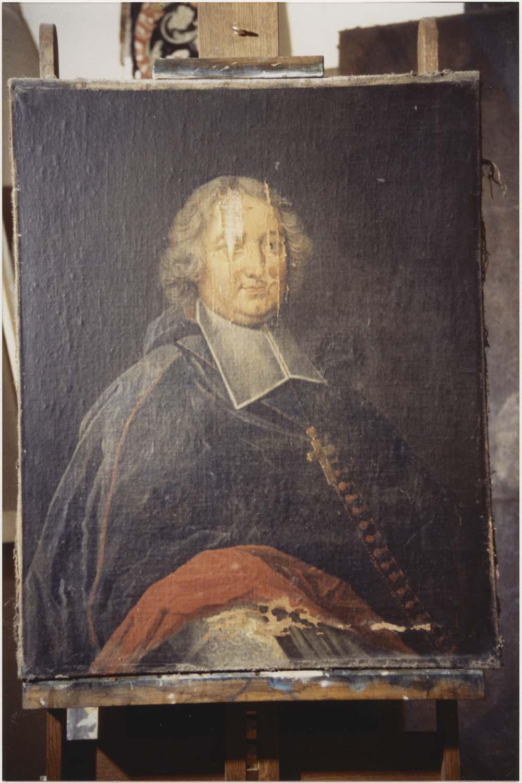 Tableau, cadre : Louis de la Vergne Montenard de Tressan, évêque du Mans