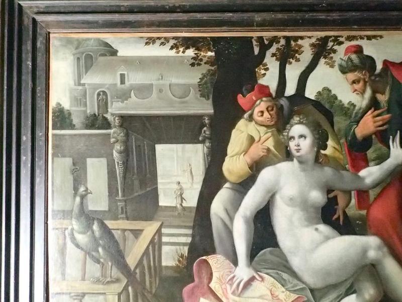 5 tableaux : Cinq scènes de la vie de Suzanne