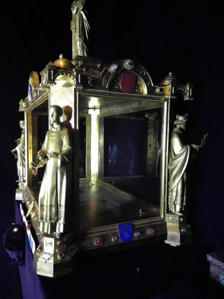 Châsse du coffre de l'abbé Boniface