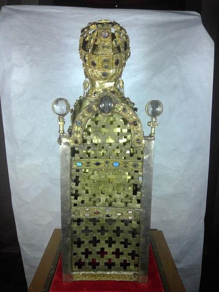 Statue : sainte Foy, vue générale