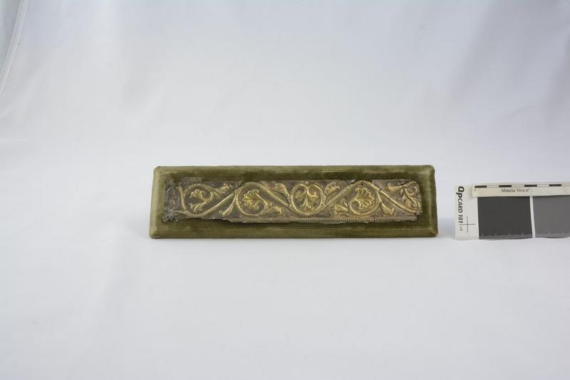 Plaque décorative (fragment de reliquaire?), vue générale