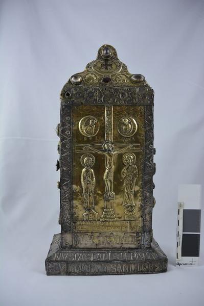 Reliquaire du pape Pascal II, vue générale