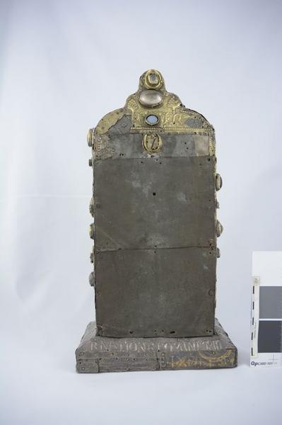 Reliquaire du pape Pascal II, vue générale du revers