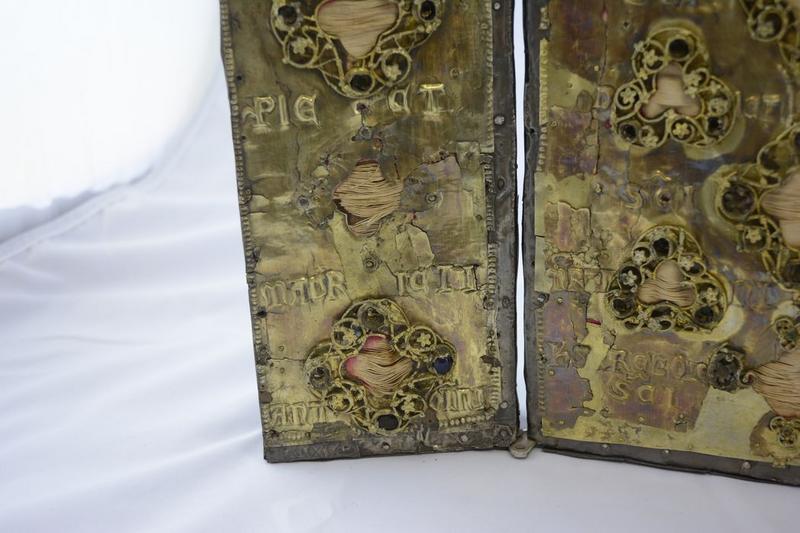 Plaque décorative (triptyque), détail