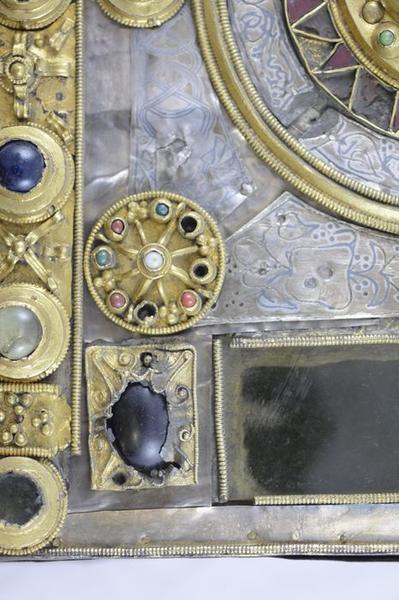 Reliquaire-monstrance, détail