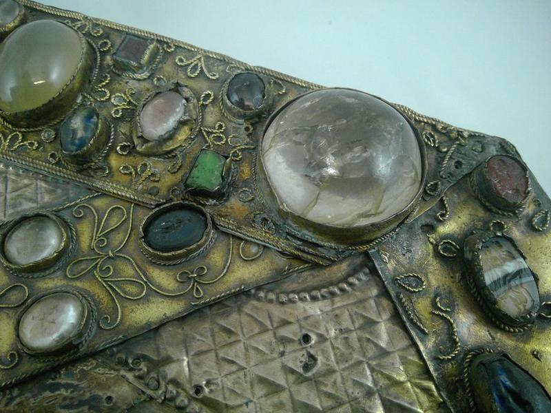 Tableau-reliquaire, détail