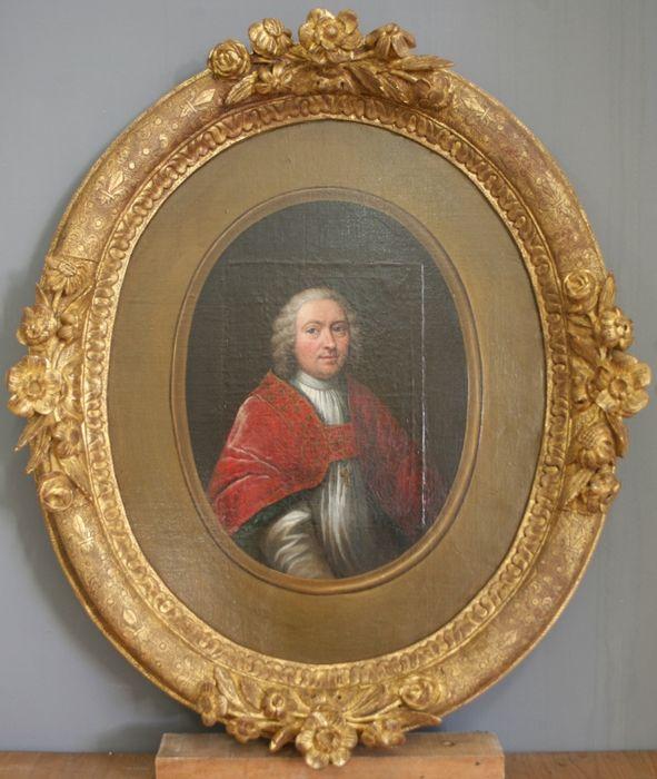 Tableau, cadre : portrait de Gabriel levoyer de Paulmy