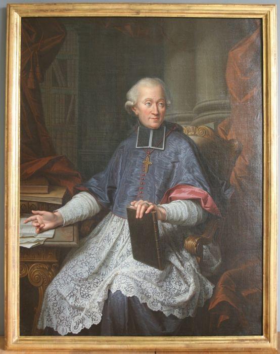 Tableau, cadre : portrait de Jérôme-Marie Champion de Cicé