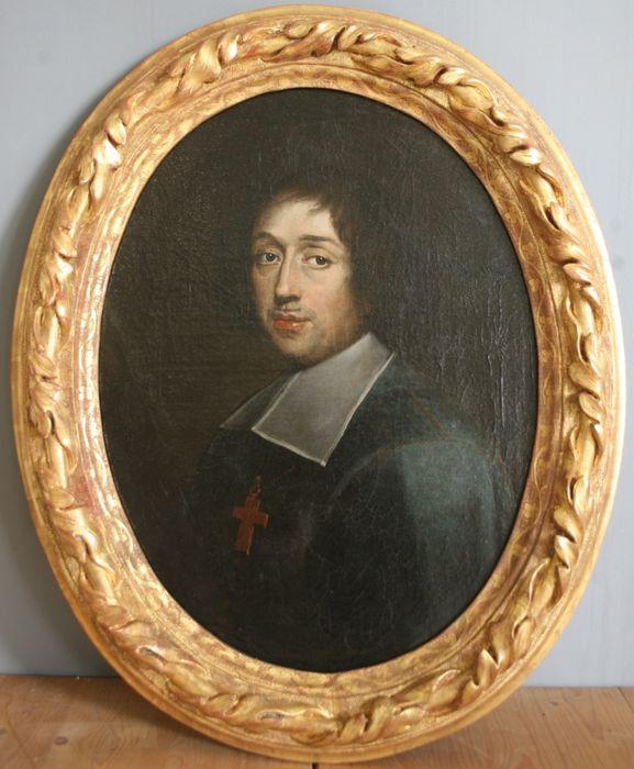 tableau, cadre: Portrait d'Isaac Habert