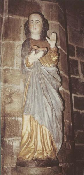 statue: Vierge de l'Annonciation, vue générale