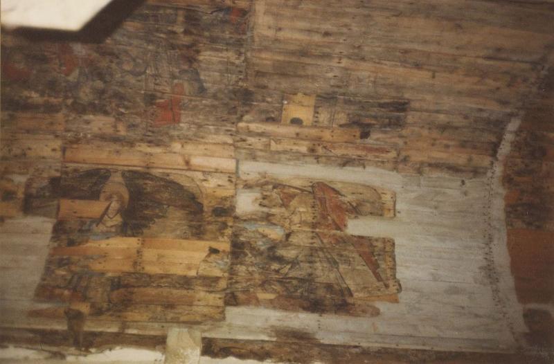 Peintures monumentales : scènes de la vie du Christ et de la légende de saint Jacques